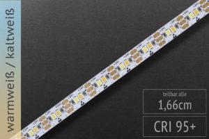 LED-Band mit einstellbarer Farbtemperatur warmweiß kaltweiß (CCT)