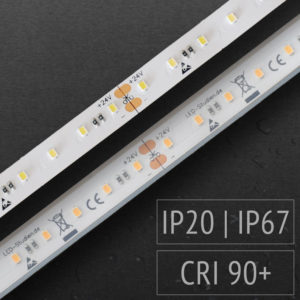LED-Lichtband mit und ohne Feuchtigkeitsschutz (IP67)