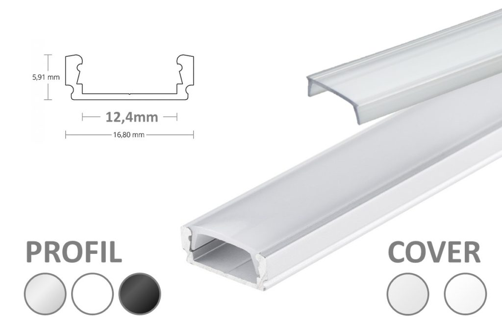 LED Aluprofil