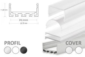breites Alu LED-Profil