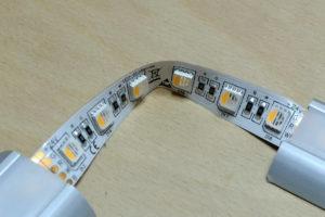 LED-Streifen knicken