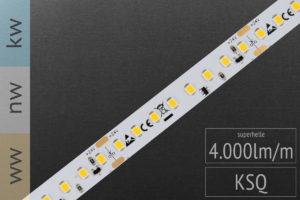 LED-Streifen superhell mit 4000lm/m