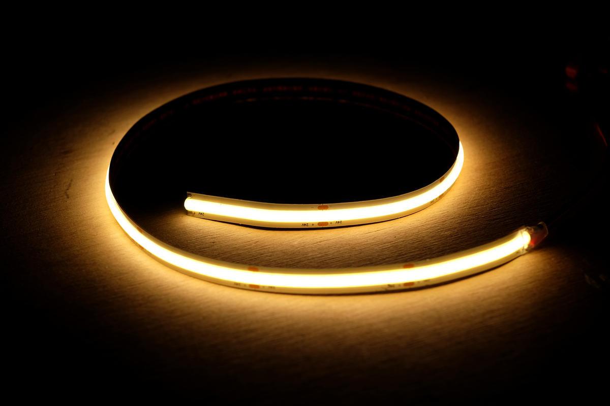 COB LED-Strip warmweiss