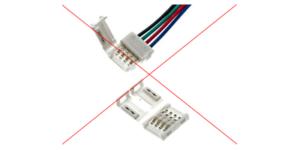 LED-Streifen Stecker & Steckverbinder