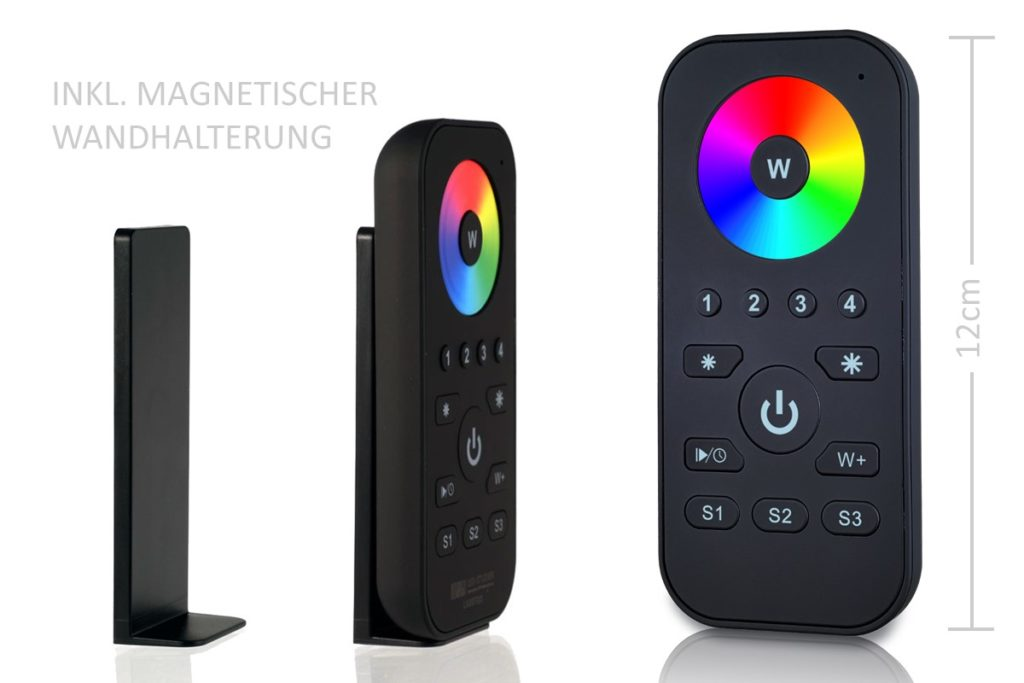RGBW LED Handfernbedienung