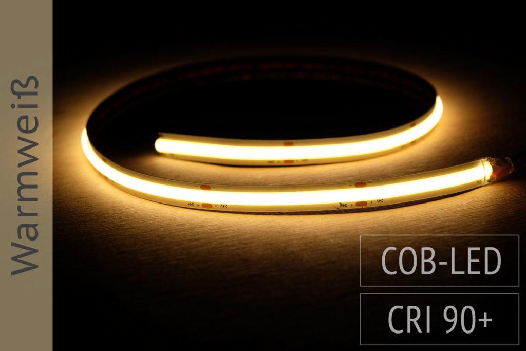 COB LED-Streifen warmweiss, 3.000K