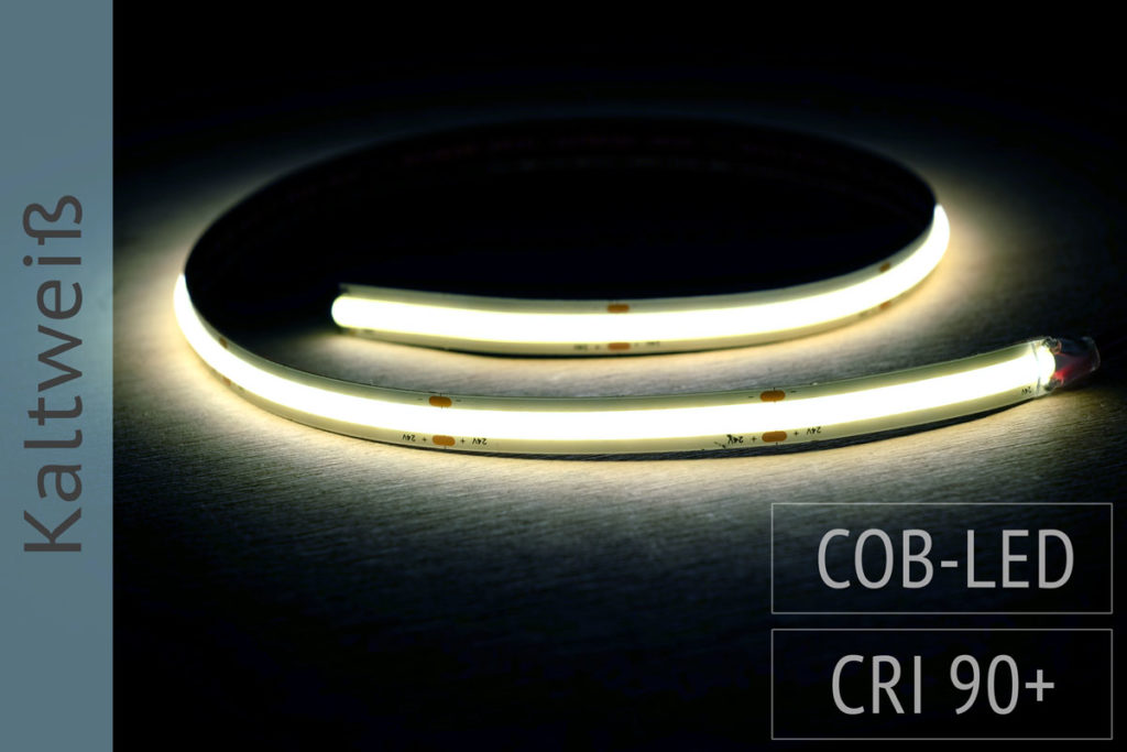 COB-LED-Band, kaltweiss