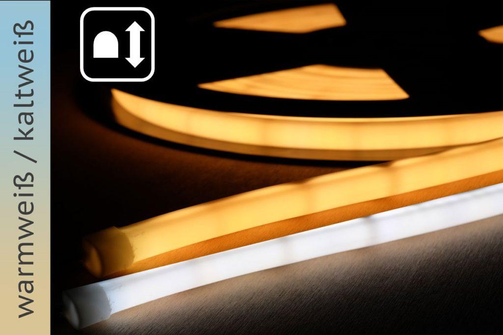 Neonflex-LED-Band mit einstellbarer Farbtemperatur