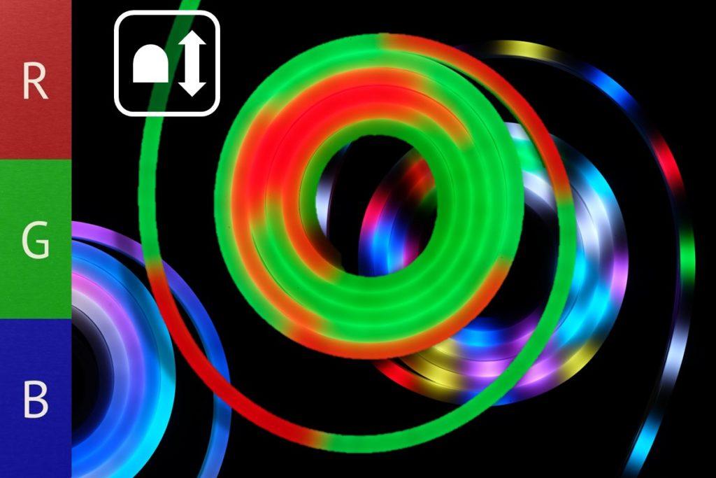 Pixel Neonflex für Lauflicht