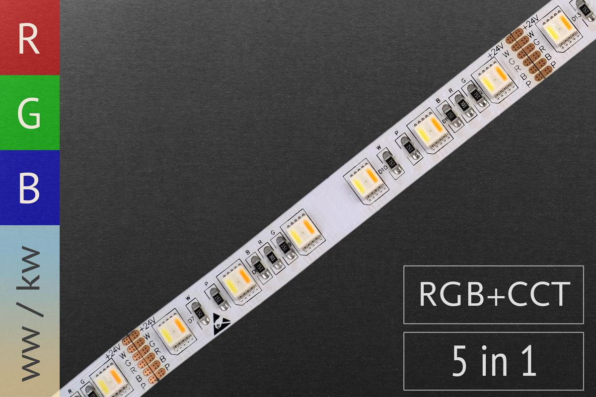 RGB+CCT LED-Streifen