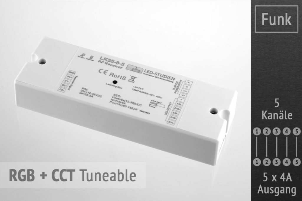 RGB+CCT LED Controller